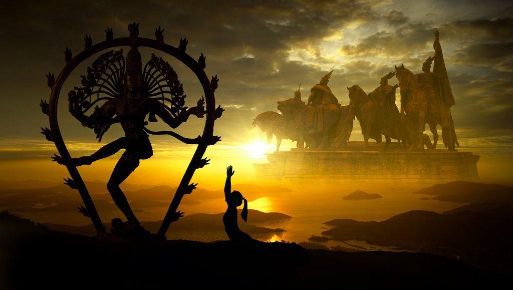 Bija mantra haum en Shiva zijn aan elkaar gerelateerd in Indiase Astrologie