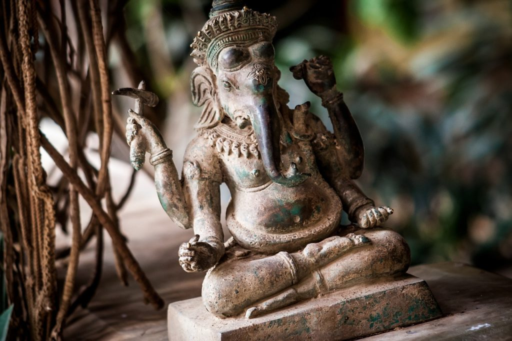 Ganesh, in Vedic remedies often seen as the remover of obstacles