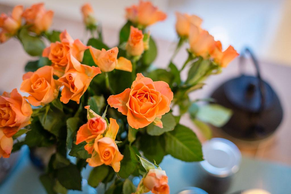 Bloemen als onderdeel van Vedische remedies
